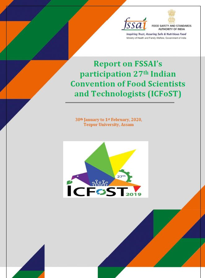 Report of ICFoST, 2019